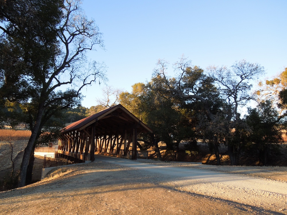 Covered Bridge at Halter Ranch