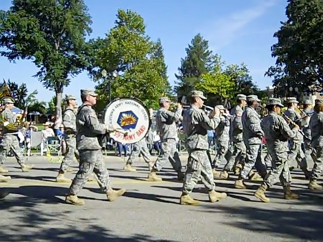 National Guard Marching Band, Pioneer Day Parade, 2010